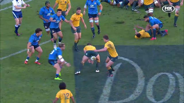 Foley's tunnel-ball wizardry