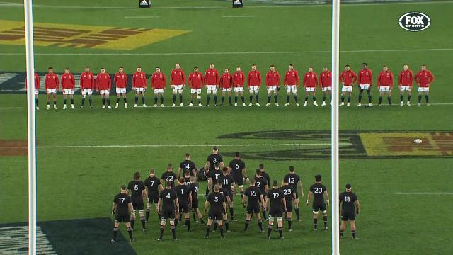 All Blacks' intense haka