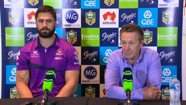 Storm press conference