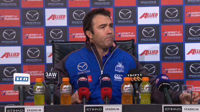 Kangaroos press conference
