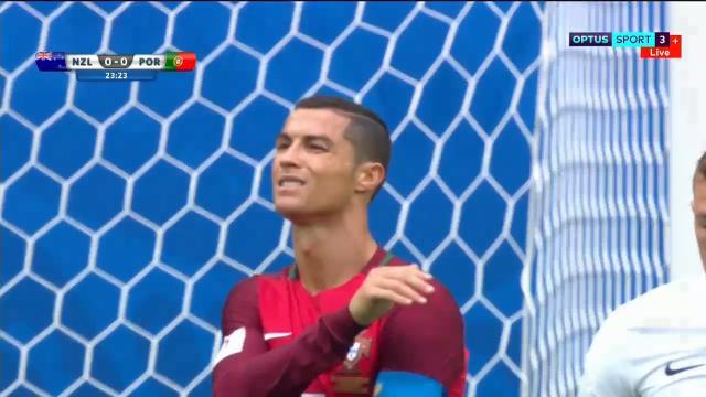 Kiwis take on Ronaldo