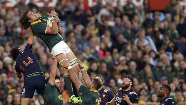 Springbok finish sweep