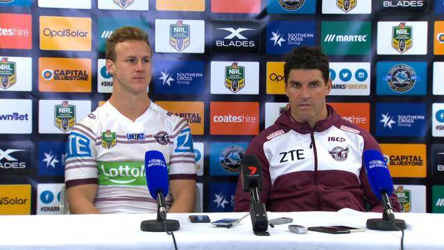Sea Eagles press conference