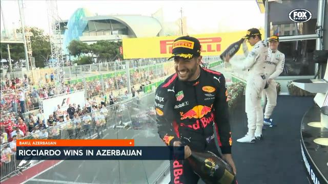 Ricciardo claims 5th GP win
