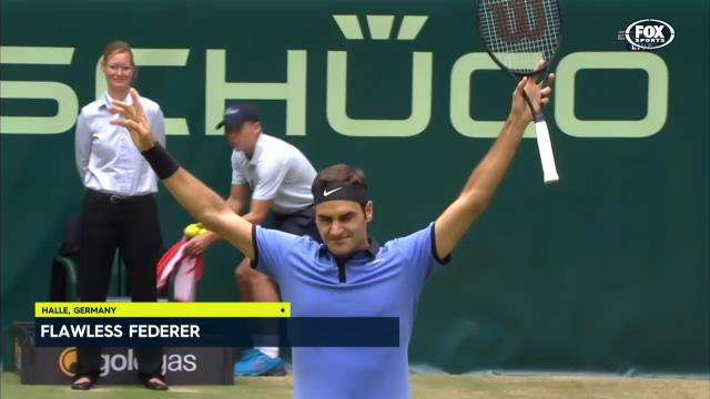 Flawless Fed supreme in Halle