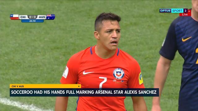 Mark's epic Sanchez tackle