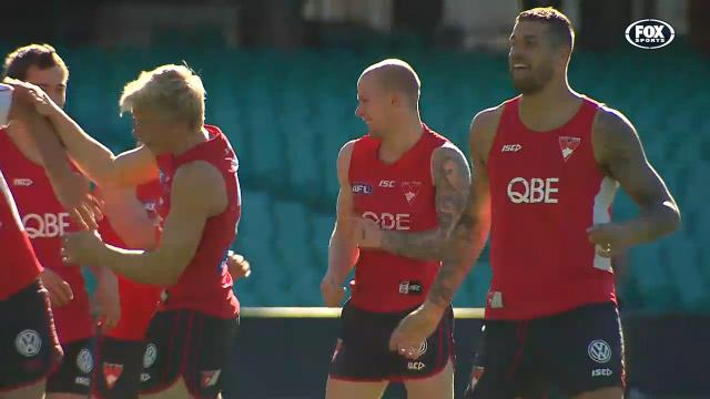 Swans ready to battle Demons