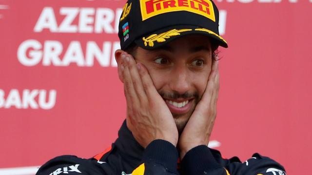 Ricciardo joins Bill & Boz