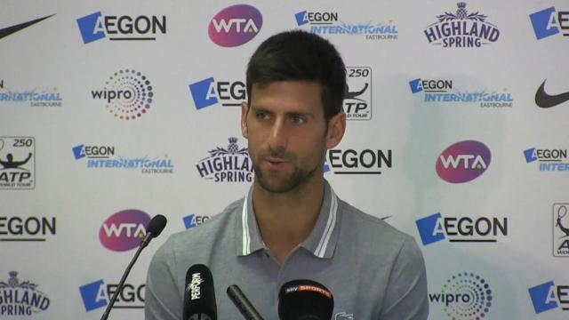 Djokovic changes schedule
