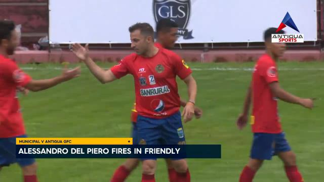 Del Piero fires in friendly