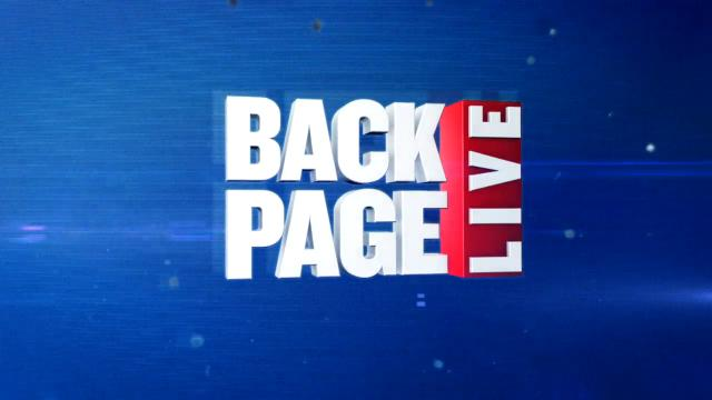 Back Page Live (27/06/17)