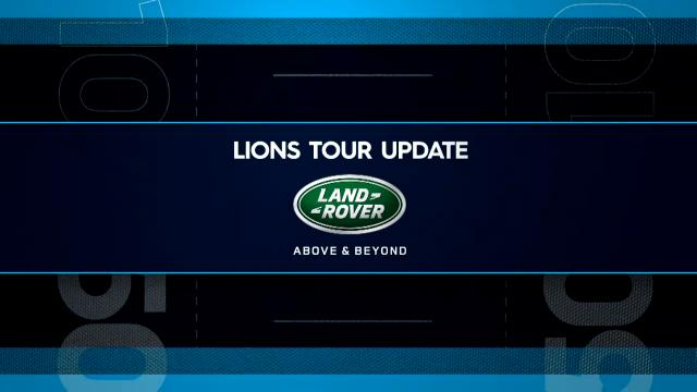 Lions tour update