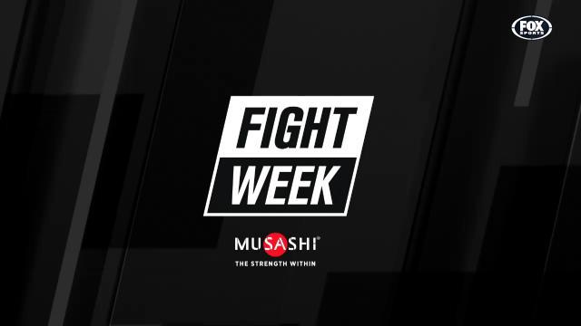 Fight Week (22/06/17)