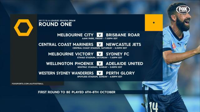 A-League announce fixtures