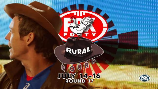 Rural Round on Fox Footy