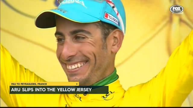 Aru claims yellow from Sky