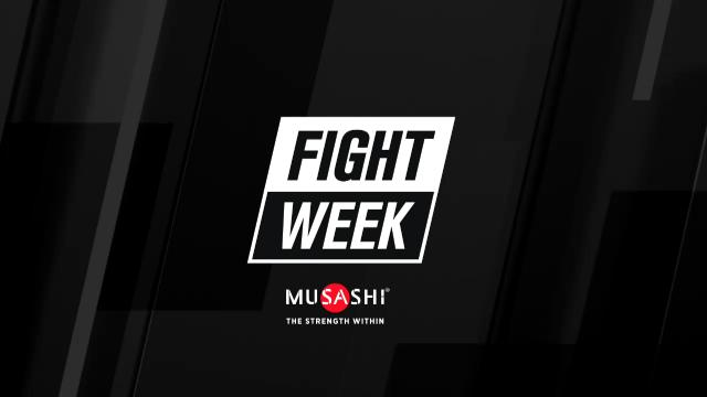 Fight Week (14/7/17)