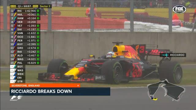 Ricciardo breaks down
