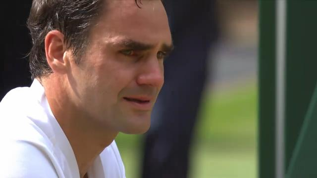 Federer's tearful reflection