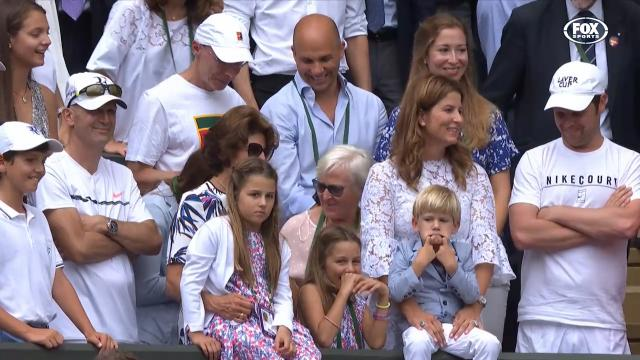 Fed's twins steal the show