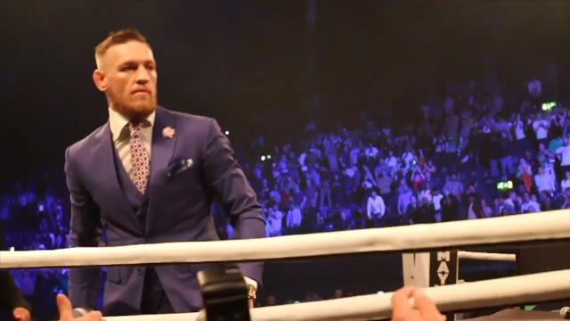 Fan poses as VIP to see Conor