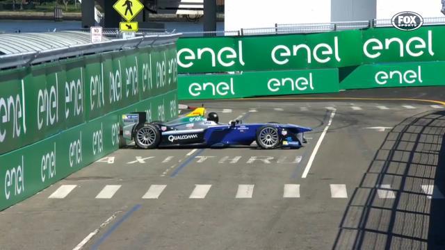 Hemsworth's Formula E gaffe