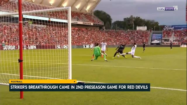 Lukaku nets 1st Man Utd goal