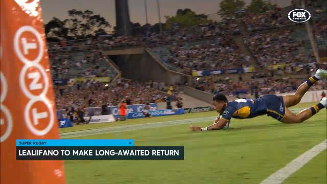 Lealiifano ready for return