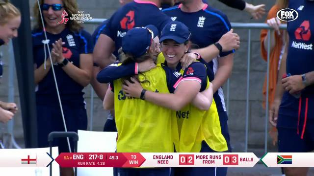 England secure home final