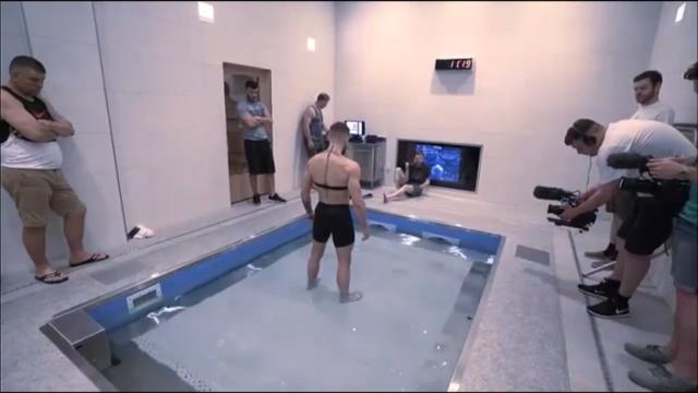 Conor's underwater training