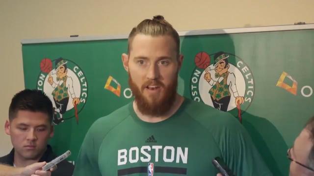 Celtics introduce new Aussie
