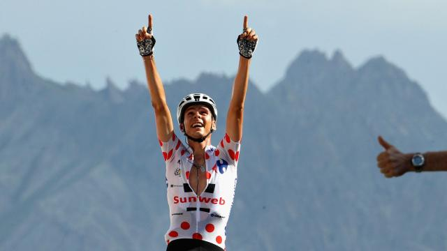 Barguil king of the mountain
