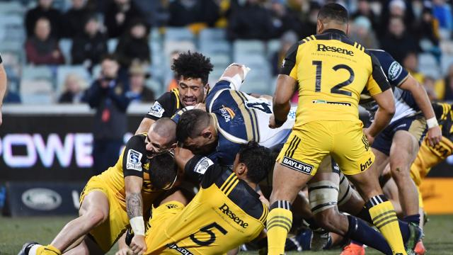 BRU v HUR: Full Match Replay