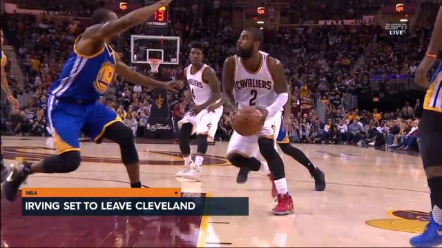 Irving set to leave Cleveland