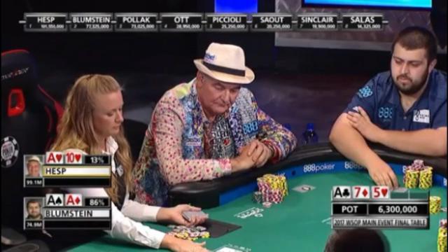 WSOP's brutal 156m hand