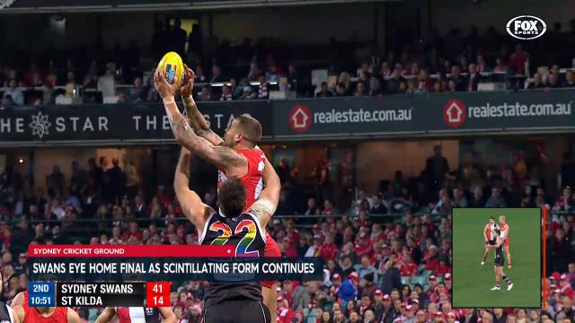 Swans eye home final with win
