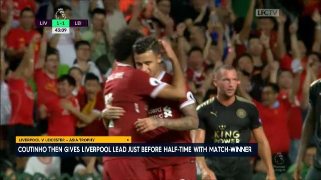 Coutinho shines for Reds