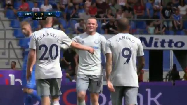 Rooney's second Toffees goal
