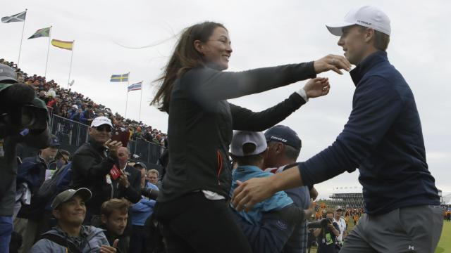 Spieth wins the British Open