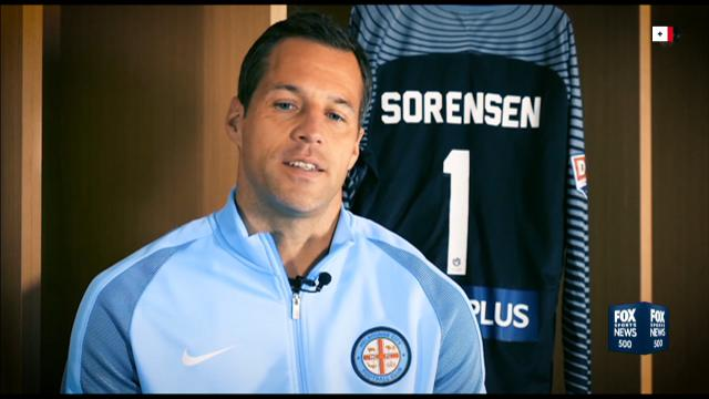 City farewell Sorensen